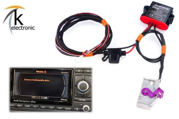AUDI TT 8J Musik über Bluetooth streamen für RNS-E Navigation plus Nachrüstpaket