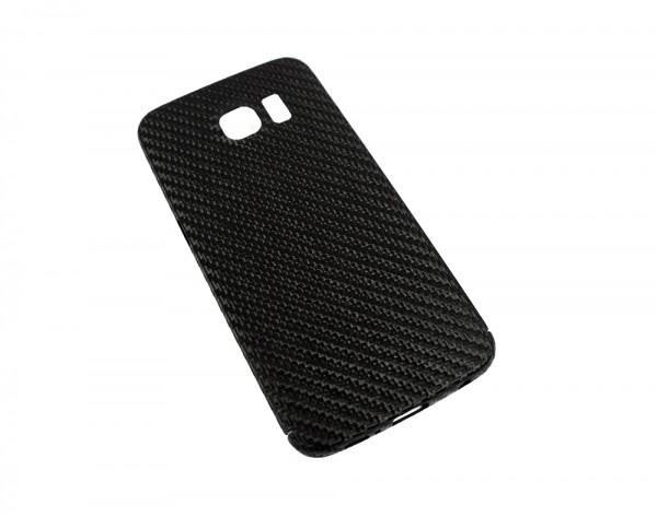 Echt-Carbon Cover für Samsung Galaxy S6 Edge