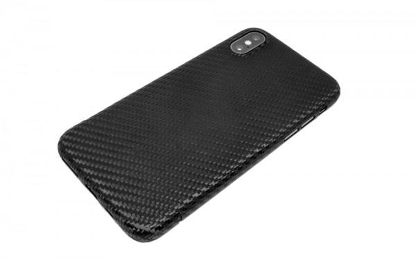 Echt-Carbon Cover für iPhone XS