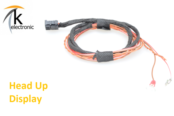 AUDI A7 4G HeadUp Display Frontprojektion Kabelsatz