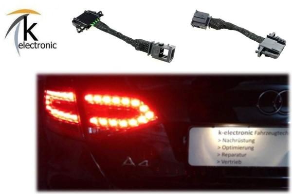 AUDI A4 8K B8 Limousine Halogen - VFL LED Heckleuchten / Rückleuchten Adapter