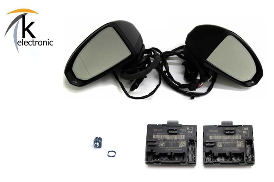 AUDI Q3 8U anklappbare Außenspiegel Nachrüstpaket   Q3 8U   Q3 ...