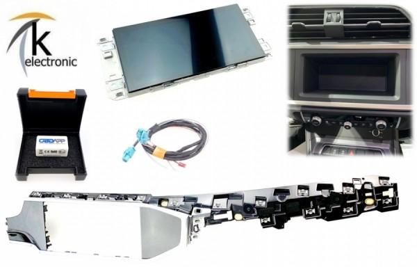 AUDI Q3 F3 MMI Radio Display/Bildschirm in Mittelkonsole Nachrüstpaket