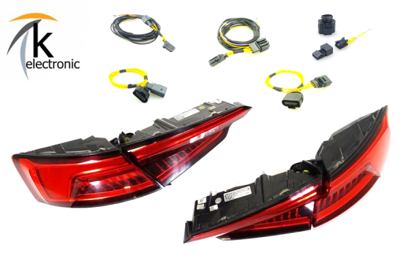 AUDI A4 B9 8W Limousine LED-Rückleuchten Heckleuchten dynamischer Blinker Nachrüstpaket