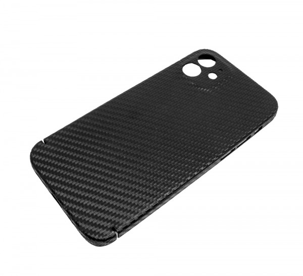 Echt-Carbon Cover für iPhone 12