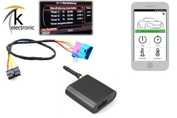 AUDI Q2 GA GSM Modul für Standheizung / Fernbedienung per Handy APP