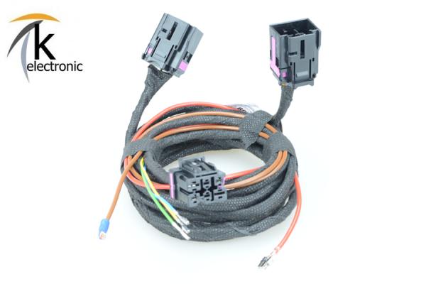AUDI Q5 8R Sitzheizung Front vorne Kabelsatz