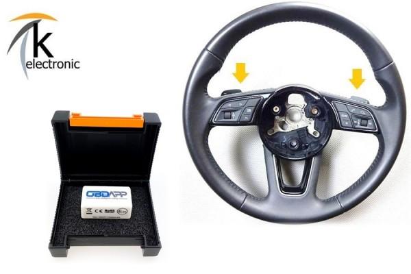 AUDI A1 GB Schaltwippen Tiptronic Lenkrad Nachrüstpaket