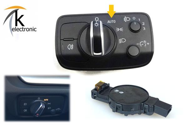 AUDI Q2 GA Licht-/Regensensor Coming Home / Leaving Home Nachrüstpaket