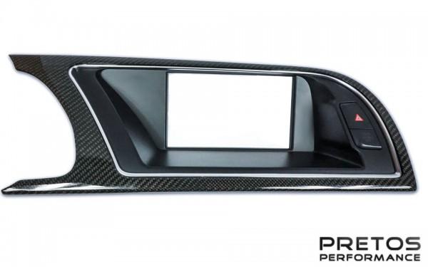 Audi RS5 Carbon Navigations-Rahmen