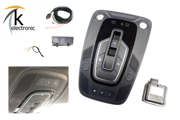 AUDI A5 F5 B9 HomeLink Garagentoröffnung Nachrüstpaket