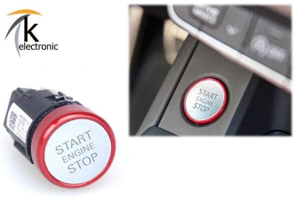 AUDI A5 F5 B9 Motorstartknopf rot Starttaster S5 RS5