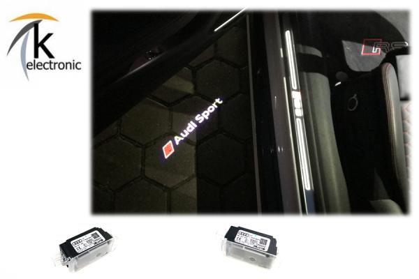 AUDI Q7 4M Umbausatz auf AUDI SPORT / RS LED für Türbeleuchtung