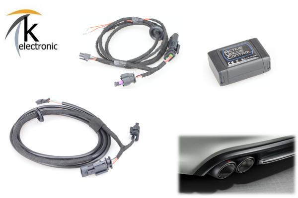 AUDI S7 RS7 4G Auspuff-/Abgas- Klappensteuerung per drive select AVC