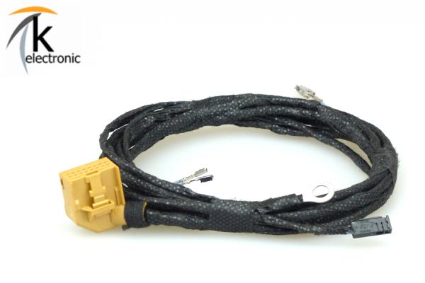AUDI A7 4G Einparkhilfe Kabelsatz PDC Heck Steuergerät