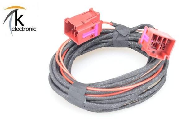 AUDI TT 8S elektrische Sitzverstellung / Lordose Kabelsatz