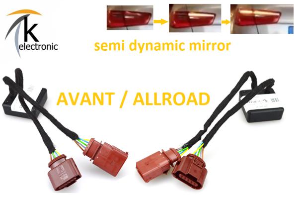 AUDI A4 8K B8 AVANT semi dynamische Blinker Laufblinker / Zusatzmodule