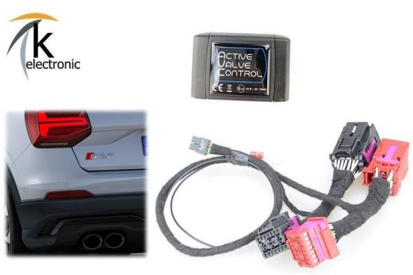 AUDI SQ2 GA Klappenauspuffanlage Steuerung per drive select AVC mit SSAM