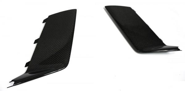 Audi RS6 seitliche Flaps Carbon glänzend (Set)