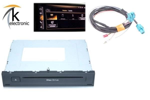 AUDI e-tron 4K DVD-CD Laufwerk Player im Handschuhfach Nachrüstpaket