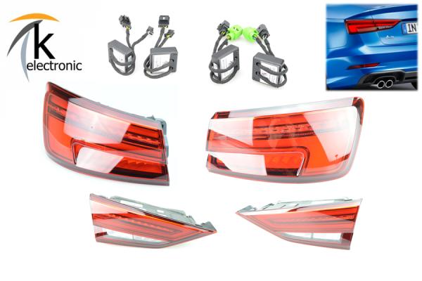AUDI A3 8V Facelift LED-Heckleuchten / Rückleuchten Limousine dynamischer Blinker Nachrüstpaket