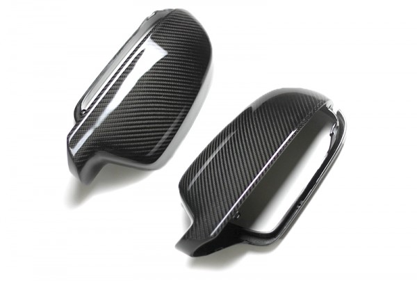 Audi A5 / S5 / RS5 Außenspiegelgehäuse Carbon ohne Side Assist Vorbereitung (Set)