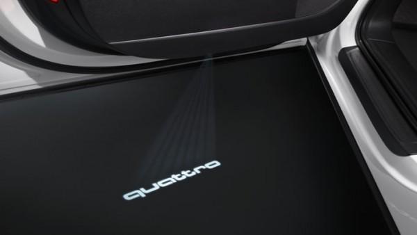 """Audi Einstiegs-LED """"Quattro"""" / s-line style Sondermodell"""