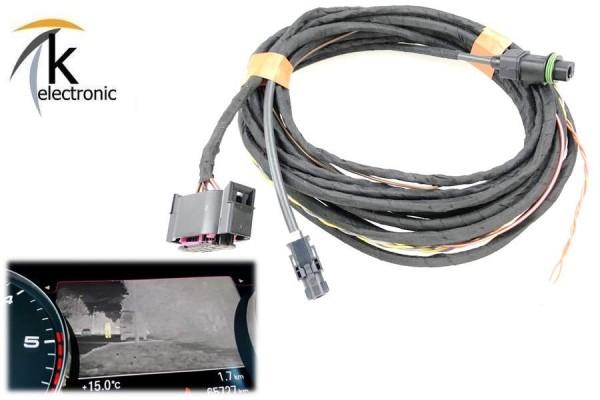 AUDI A6 4G Nachtsichtkamera Night View Kabelsatz Facelift ab 2015