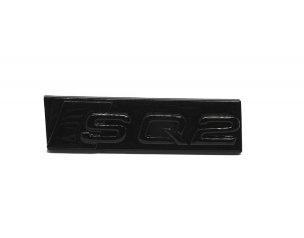 """Audi Schriftzug """"SQ2"""" schwarz glänzend für Kühlergrill"""