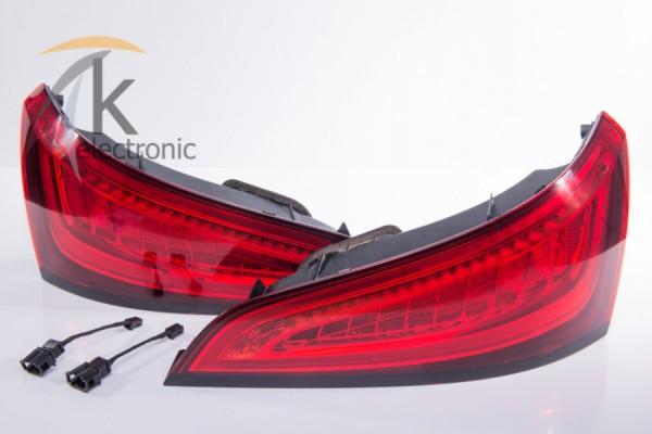AUDI Q5 8R LED Heckleuchten Facelift Nachrüstpaket
