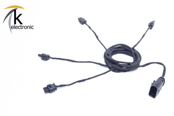AUDI A5 F5 B9 Einparkhilfe APS Heck / hinten Kabelsatz Stoßfänger