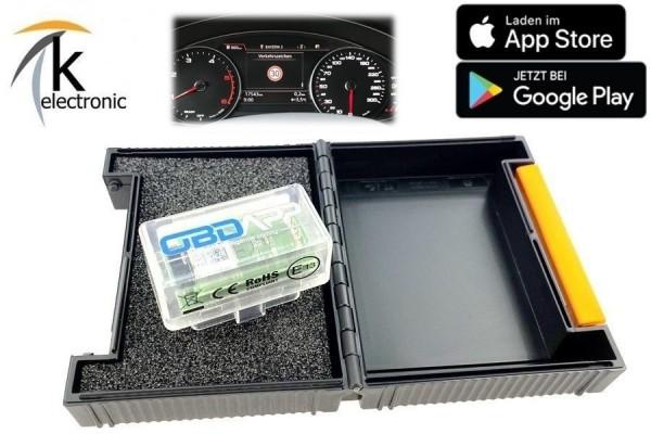 AUDI A5 F5 B9 Verkehrszeichenerkennung VZE Tempolimitanzeige im Tacho Nachrüstpaket