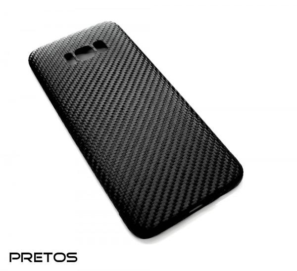 Echt-Carbon Handy Cover für Samsung Galaxy S8 Plus