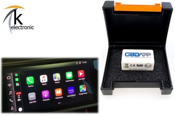 AUDI A1 GB Apple Carplay ohne Kabel / Wireless freischalten Nachrüstpaket
