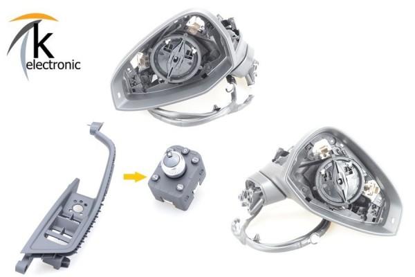 AUDI A5 F5 B9 elektrisch anklappbare Außenspiegel Nachrüstpaket