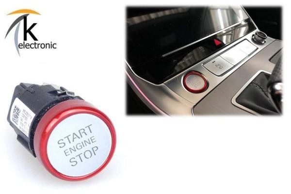 AUDI A8 4N Motorstartknopf rot Starttaster S8