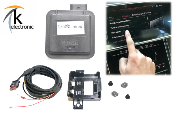 AUDI A8 4N D5 HomeLink Garagentoröffnung Nachrüstpaket