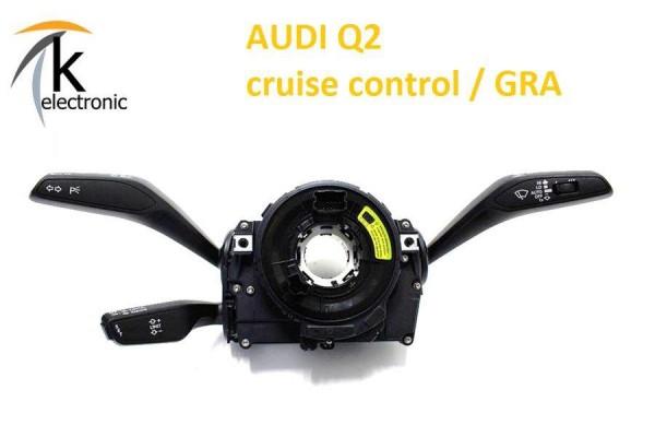 AUDI Q2 GA Geschwindigkeitsregelanlage Tempomat GRA ab Mj. 2019 Nachrüstpaket