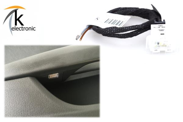AUDI Q5 8R Türablagenbeleuchtung LED Nachrüstpaket