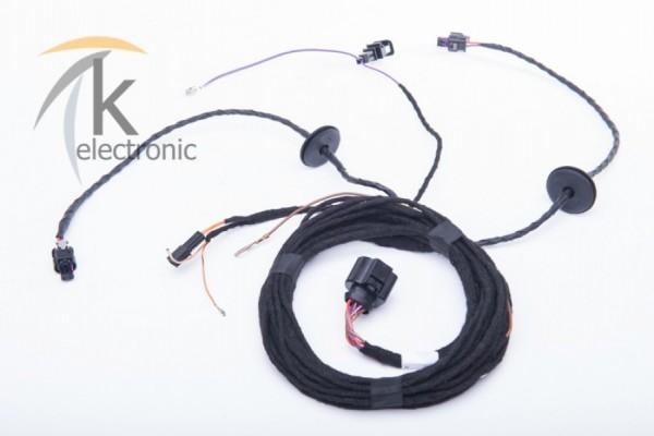 AUDI A4 8K B8 A5 8T 8F motor sound package elektronische Abgasanlage Kabelsatz