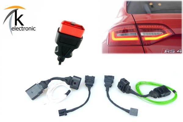 AUDI A4 8K B8 LED Heckleuchten Facelift Anschlusspaket