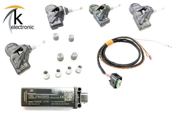 AUDI A5 F5 B9 Reifendruckkontrolle TPMS mit Anzeige Luftdruck im MMI Nachrüstpaket