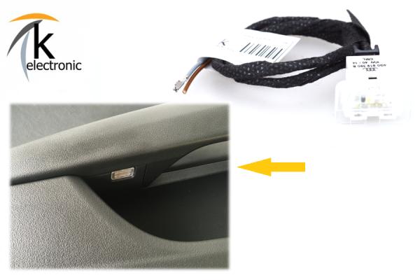 AUDI A7 4G Türablagenbeleuchtung LED Kabelsatz