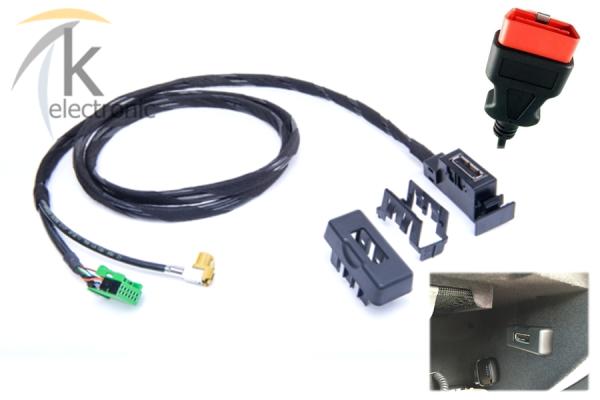 AUDI Q3 8U AMI audi music interface für MMI3G / 3G+ Nachrüstpaket