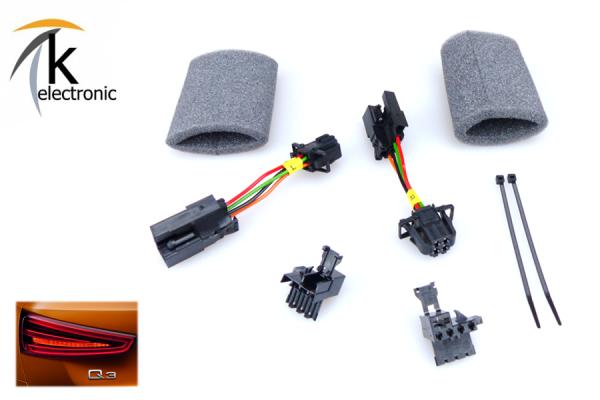 AUDI Q3 8U LED-Heckleuchten / Rückleuchten Adapter / Anschlusspaket