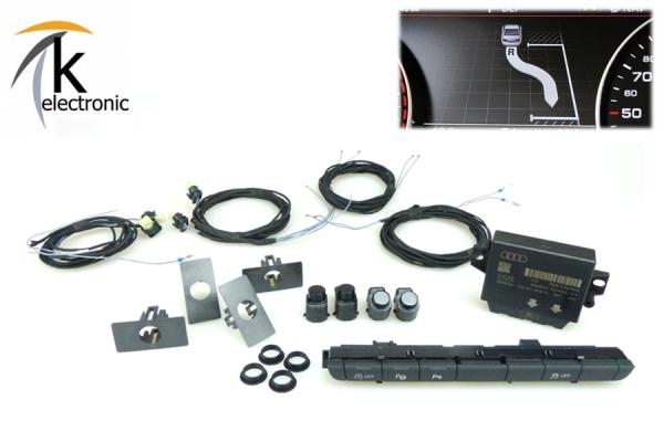 AUDI A7 4G Parklenkassistent PLA Vor-Facelift Nachrüstpaket