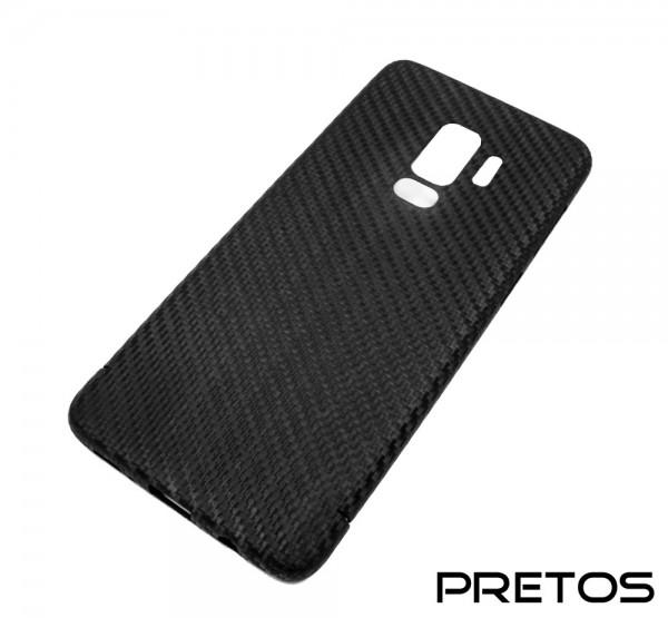 Echt-Carbon Handy Cover für Samsung Galaxy S9 Plus