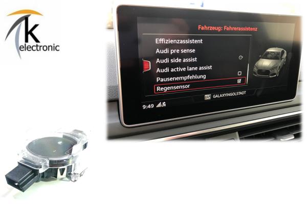 AUDI A4 B9 8W Regensensor / automatischer Scheibenwischer Nachrüstpaket