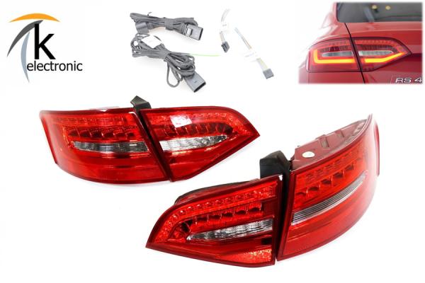 AUDI A4 8K B8 Avant Facelift Heckleuchten / Rückleuchten Nachrüstpaket
