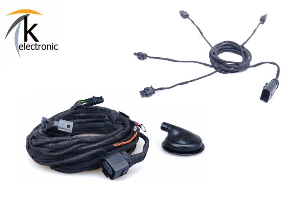 AUDI A3 8V Einparkhilfe APS Heck / PDC hinten Kabelsatzpaket